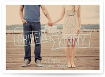 Wrapped in Love Save the Date Cards