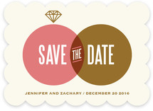 The One Ring Save the Date Cards