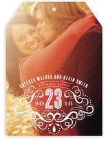 Scroll Stamp Save the Date Cards