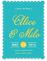 Storied Book Cover Save the Date Cards
