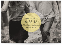 Round &amp; Round Save the Date Cards