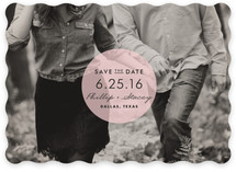 Round & Round Save the Date Cards
