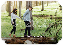 Modern Minimalist Save the Date Cards