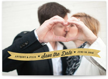 Sweethearts Save the Date Cards