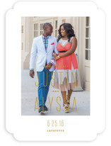 City Chic Save the Date Cards