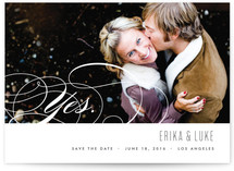 Yes. Save the Date Cards