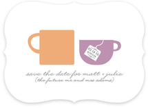 Tea for Two Save the Date Cards