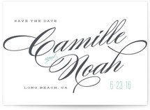 Classique Save the Date Cards