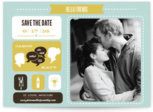It's a Date Save the Date Cards