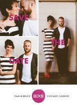 Bold Love Save the Date Cards By Bonjour Berry