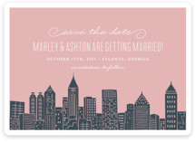 Big City - Atlanta Save the Date Cards