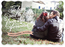Beholden Save the Date Cards