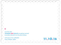 Pica Save the Date Cards