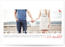 Yes, It&#039;s True Save the Date Cards
