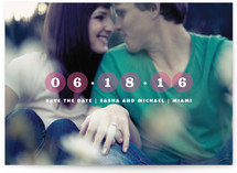 Circle the Date Save the Date Cards