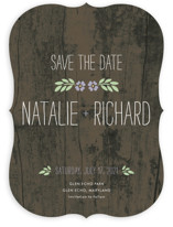 In the Park Save the Date Cards