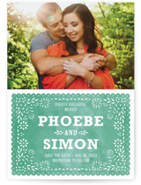 Fiesta Folk Art Save the Date Cards