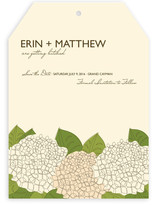 Summer Hydrangea Save the Date Cards