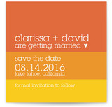 Summer Sun Save the Date Cards