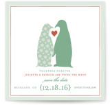 Penguins Save the Date Cards