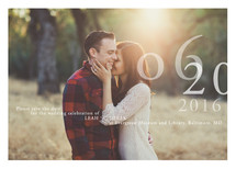 Belle Memoire Save the Date Cards By Helena Seo Design