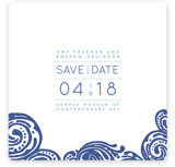 Contemporary Chic Save the Date Cards