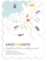 Destination Save the Date Cards