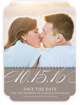 Elegant Year Save the Date Cards