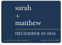 float + math Save the Date Cards