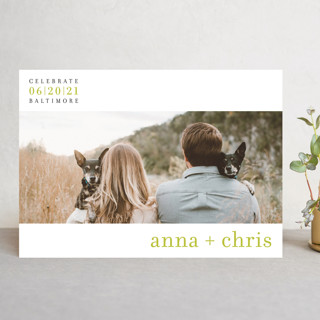 float + celebrate Save the Date Cards