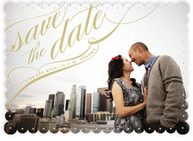 Flourish Save the Date Cards