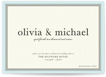 float + framed Save the Date Cards