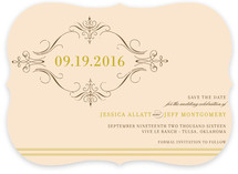 French Vintage Save the Date Cards