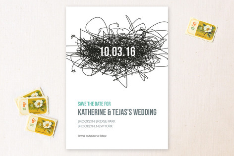 Love Nest Save the Date Cards