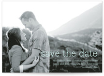Simply in Love Save the Date Cards