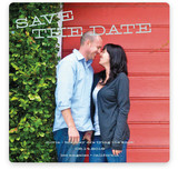 Tilted Save the Date Cards