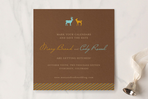 Love You Deerly Save the Date Cards