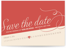 Retro Diner Save the Date Cards