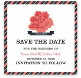 The Rose Save the Date Cards