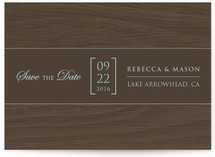 The Lodge Save the Date Cards