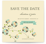 Petite Fleur Save the Date Cards