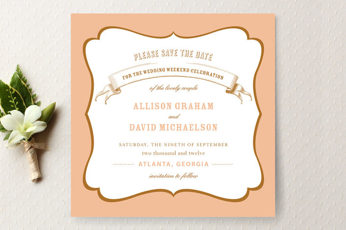 La Fete Save the Date Cards