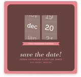 Calendar Slot Machine Save the Date Cards