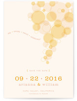 Vineyard Harvest Light Save the Date Cards