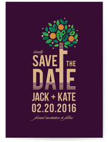 Date Tree Save the Date Cards