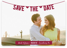 Banner Save the Date Cards