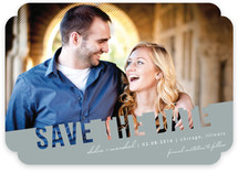 Simply See Through Save the Date Cards