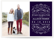Flourishing Love Save the Date Cards