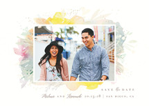 Secret Garden Frame Save the Date Cards By Lori Wemple