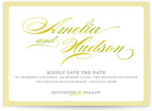 Float + Spring Shades Save the Date Cards
